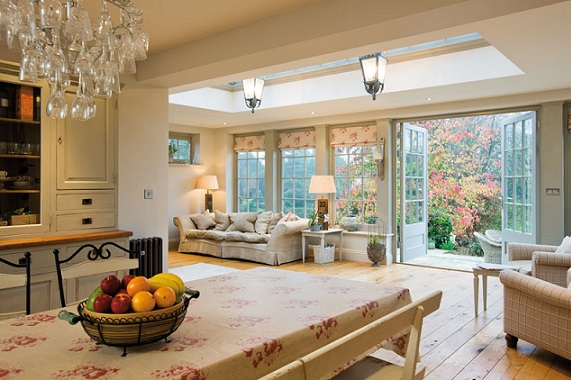 Building an orangery in your home for kitchen extension for Orangery extension kitchen