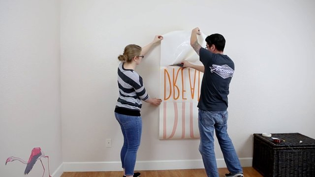 Installing Wall Decals The Quick And Easy Way - Instructions on how to put up a wall sticker