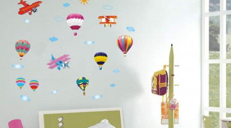 Wall Stickers To Beautify Your Kid's Bedroom