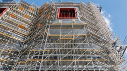 Construction Work Scaffold Towers