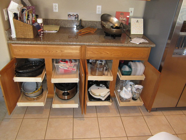 Having Pull Out Shelves In Your Kitchen