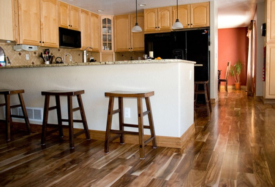 Engineered hardwood is